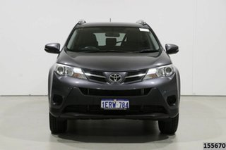 2015 Toyota RAV4 ZSA42R MY14 Upgrade GX (2WD) Grey Continuous Variable Wagon.