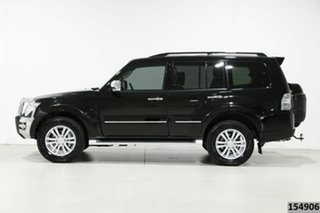 2017 Mitsubishi Pajero NX MY17 Exceed LWB (4x4) Black 5 Speed Auto Sports Mode Wagon
