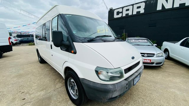 Used Ford Transit VJ Mid Roof MWB Maidstone, 2005 Ford Transit VJ Mid Roof MWB White 5 Speed Manual Van
