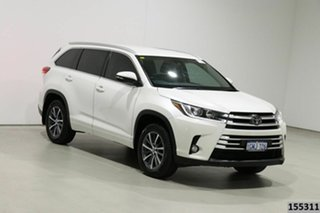 2018 Toyota Kluger GSU50R GXL (4x2) White 8 Speed Automatic Wagon