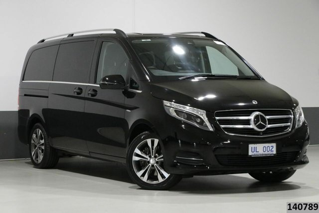 Used Mercedes-Benz V250d 447 MY17 Avantgarde MWB Bentley, 2017 Mercedes-Benz V250d 447 MY17 Avantgarde MWB Obsidian Black 7 Speed Automatic Wagon