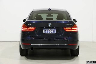 2016 BMW 320i F34 MY15 Upgrade Gran Turismo (Luxury) Blue 8 Speed Automatic Hatchback