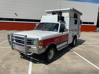 1991 Ford F150 (4x4) White 5 Speed Manual 4x4 Utility