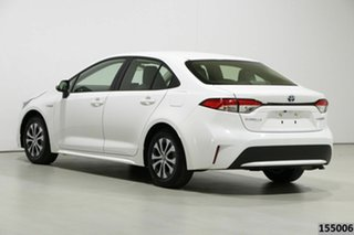 2019 Toyota Corolla ZWE211R Ascent Sport (Hybrid) White Continuous Variable Sedan