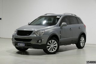 2014 Holden Captiva CG MY13 5 LT (FWD) Grey 6 Speed Manual Wagon.
