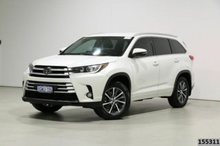 2018 Toyota Kluger GSU50R GXL (4x2) White 8 Speed Automatic Wagon.