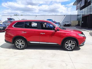 2016 Mitsubishi Outlander ZK MY16 Exceed 4WD Red 6 Speed Sports Automatic Wagon.