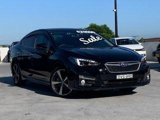 2018 Subaru Impreza G5 MY19 2.0i-S CVT AWD Black 7 Speed Constant Variable Sedan.
