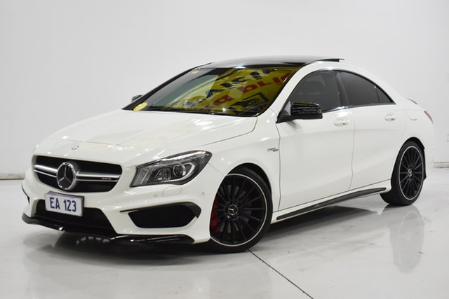 Used Mercedes-Benz CLA45 117 AMG Brooklyn, 2013 Mercedes-Benz CLA45 117 AMG White 7 Speed Automatic Coupe