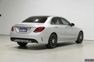2017 Mercedes-Benz C200 205 MY17 Silver 9 Speed Automatic G-Tronic Sedan