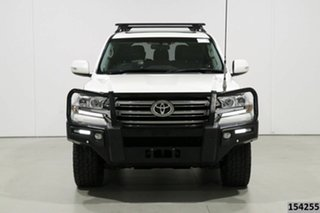 2016 Toyota Landcruiser VDJ200R MY16 VX (4x4) Pearl White 6 Speed Automatic Wagon.