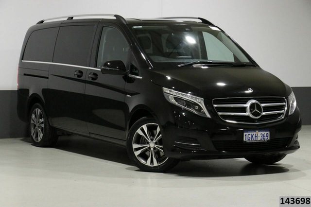 Used Mercedes-Benz V250d 447 MY17 Avantgarde MWB Bentley, 2017 Mercedes-Benz V250d 447 MY17 Avantgarde MWB Black 7 Speed Automatic Wagon