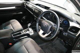 2017 Toyota Hilux GUN126R MY17 SR5 (4x4) Grey 6 Speed Automatic Dual Cab Utility