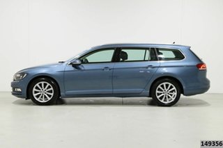 2018 Volkswagen Passat 3C MY18 132 TSI Comfortline Harvard Blue 7 Speed Auto Direct Shift Wagon