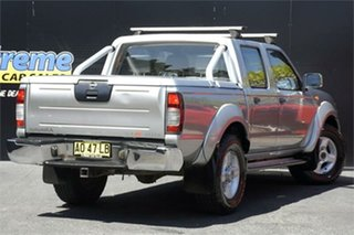 2006 Nissan Navara D22 S2 ST-R Silver 5 Speed Manual Utility
