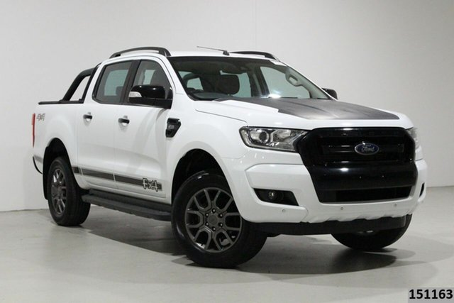 Used Ford Ranger PX MkII MY17 FX4 Special Edition Bentley, 2017 Ford Ranger PX MkII MY17 FX4 Special Edition White 6 Speed Automatic Double Cab Pick Up