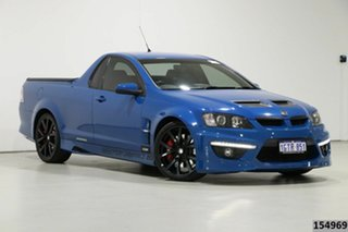 2013 Holden Special Vehicles Maloo E3 MY12.5 Blue 6 Speed Automatic Utility.