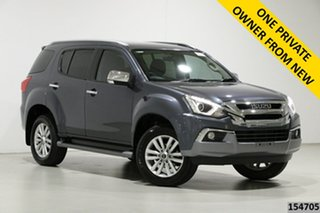 2018 Isuzu MU-X UC MY18 LS-T (4x4) Graphite 6 Speed Auto Sequential Wagon.