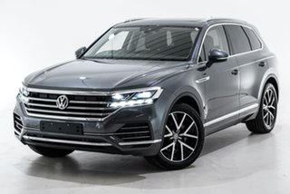 2019 Volkswagen Touareg CR MY19 190TDI Tiptronic 4MOTION Launch Edition Grey 8 Speed.
