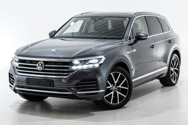 Used Volkswagen Touareg CR MY19 190TDI Tiptronic 4MOTION Launch Edition Berwick, 2019 Volkswagen Touareg CR MY19 190TDI Tiptronic 4MOTION Launch Edition Grey 8 Speed