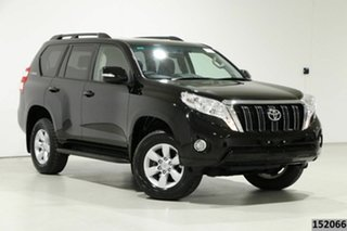 2016 Toyota Landcruiser Prado GDJ150R MY16 GXL (4x4) Black 6 Speed Automatic Wagon.