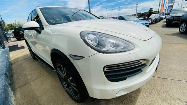 Used Porsche Cayenne 92A MY11 S Tiptronic Maidstone, 2010 Porsche Cayenne 92A MY11 S Tiptronic White 8 Speed Sports Automatic Wagon