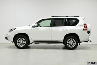 2017 Toyota Landcruiser Prado GDJ150R MY16 VX (4x4) Crystal Pearl 6 Speed Automatic Wagon