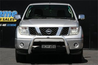 2008 Nissan Navara D40 ST-X Silver Lightning 6 Speed Manual Utility.