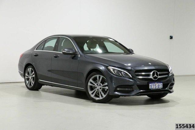 Used Mercedes-Benz C200 205 Bentley, 2015 Mercedes-Benz C200 205 Grey 7 Speed Automatic Sedan