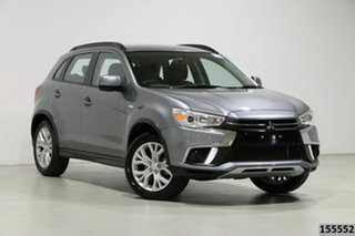 2019 Mitsubishi ASX XC MY19 ES (2WD) Grey Continuous Variable Wagon.