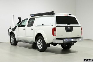 2012 Nissan Navara D40 MY12 ST-X (4x4) White 7 Speed Automatic Dual Cab Pick-up