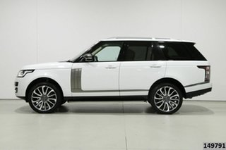 2013 Land Rover Range Rover LG Autobiography SDV8 Fuji White 8 Speed Automatic Wagon