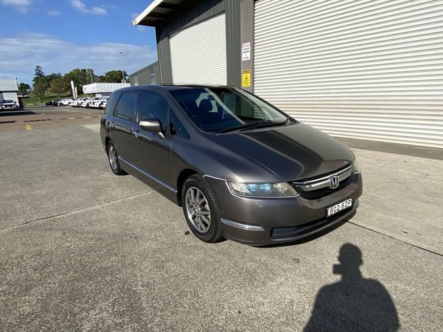 Used Honda Odyssey 3rd Gen MY07 Luxury Cardiff, 2008 Honda Odyssey 3rd Gen MY07 Luxury Grey 5 Speed Sports Automatic Wagon