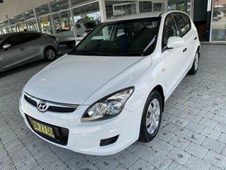 2011 Hyundai i30 SX White Automatic Hatchback.