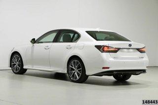 2017 Lexus GS450H GWL10R MY17 Hybrid Sports Luxury Pearl White 6 Speed CVT Auto Sequential Sedan