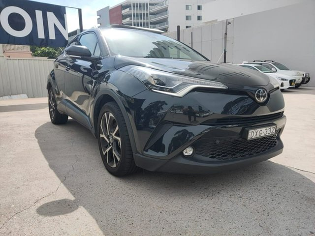 Used Toyota C-HR Goulburn, 2017 Toyota C-HR Koba Black Constant Variable Wagon