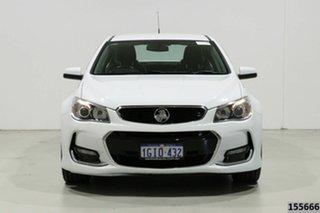 2017 Holden Commodore VF II MY17 SV6 White 6 Speed Automatic Sedan.