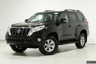 2016 Toyota Landcruiser Prado GDJ150R MY16 GXL (4x4) Black 6 Speed Automatic Wagon