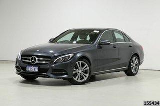 2015 Mercedes-Benz C200 205 Grey 7 Speed Automatic Sedan.