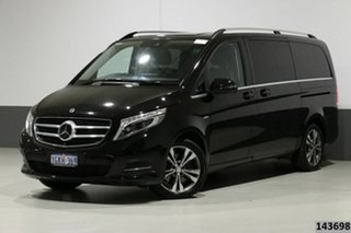 2017 Mercedes-Benz V250d 447 MY17 Avantgarde MWB Black 7 Speed Automatic Wagon