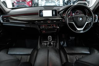 2015 BMW X6 F16 xDrive30d Coupe Steptronic White 8 Speed Sports Automatic Wagon.