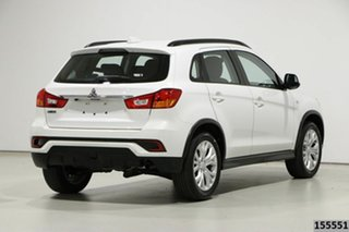 2019 Mitsubishi ASX XC MY19 ES (2WD) White Continuous Variable Wagon