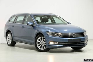 2018 Volkswagen Passat 3C MY18 132 TSI Comfortline Harvard Blue 7 Speed Auto Direct Shift Wagon.