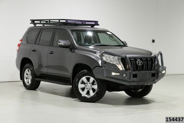 Used Toyota Landcruiser Prado KDJ150R MY14 GXL (4x4) Bentley, 2014 Toyota Landcruiser Prado KDJ150R MY14 GXL (4x4) Graphite 5 Speed Sequential Auto Wagon