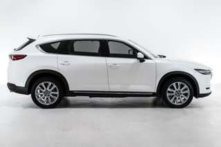 2018 Mazda CX-8 KG4W2A Asaki SKYACTIV-Drive i-ACTIV AWD White 6 Speed Sports Automatic Wagon