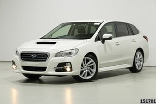 2017 Subaru Levorg MY17 2.0GT White Continuous Variable Wagon.