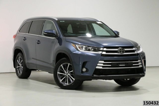 Used Toyota Kluger GSU50R GXL (4x2) Bentley, 2019 Toyota Kluger GSU50R GXL (4x2) Blue 8 Speed Automatic Wagon
