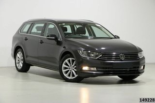 2018 Volkswagen Passat 3C MY18.5 132 TSI Comfortline Manganese Grey 7 Speed Auto Direct Shift Wagon.