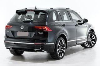 2018 Volkswagen Tiguan 5N MY18 162TSI DSG 4MOTION Highline Black 7 Speed.