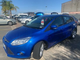 2013 Ford Focus LW MK2 Trend Blue 6 Speed Automatic Hatchback